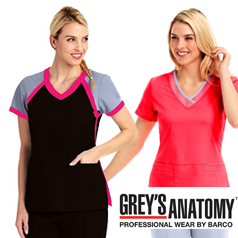 Grey's Anatomy Scrubs by Barco
