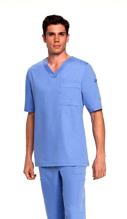 GA0103 Grey's Anatomy Men V-Neck Top <br>Soft  S - 5XL