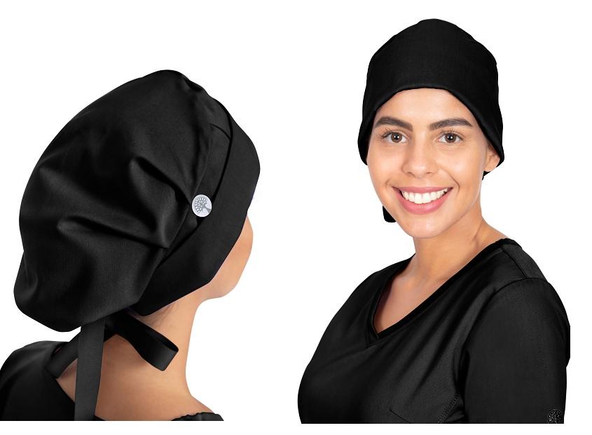 1002 Healing Hand Sage Bouffant Scrub Cap / Hat <br>(for Long Hair)