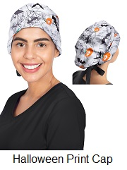 1002PRT-HEV Healing Hand Sage Bouffant Scrub Cap / Hat