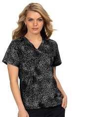 1015PR-ALK Koi Scrubs Lucky Top <BR>Animal Kingdom <br>FALL 2020