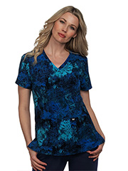 1029PR-IKF Koi Early Energy Top Ikat Floral<BR> Fall 2021