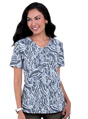 1029PR-ZEB Koi Early Energy Top Zebra Snake Burnout Black <BR>FINAL SALE