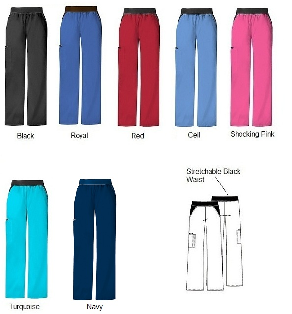 C1031 Cherokee Flexible Cargo Pants 4XL - 5XL