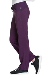 1123A Cherokee  Low-Rise Straight Drawstring Pants<br> *Certainty Antimicrobial Stretch*