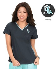 113TKD-CC Koi Ashley Scrub Top <br> *TOKIDOKI*