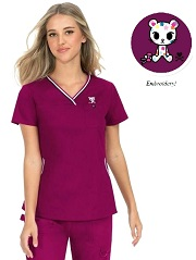 113TKD-RA Koi Ashley Scrub Top <br> *TOKIDOKI* FINAL SALE