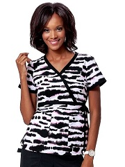 115PR-BBT Koi Kathryn Scrub Top Black Beauty <br> Fall 2014