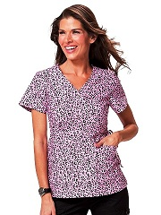 115PR-CHK Koi Kathryn Top Cool Cheetah Pink<br> Summer 2014 (2X,3X)