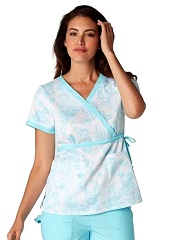 115PR-FLR Koi Kathryn Scrub Top Flirty<br> Spring 2017 FINAL SALE