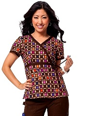 115PR-OPT Koi Kathryn Scrub Top Optical<br> Fall 2014