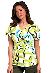 115PR-RRD Koi Kathryn Scrub Top Record Time<br> Spring 2014