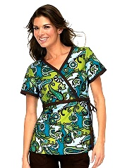 115PR-TWG  Koi Kathryn Scrub Top Twiggy <br> Fall 2013 (XS)