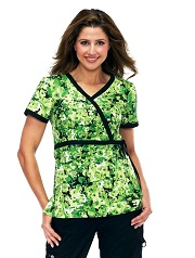 115PR-VIN  Koi Kathryn Scrub Top Vineyard<br> Spring 2014