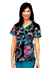 115PR-WON Koi Kathryn Scrub Top Wonderland <br> Winter 2013 (XS)
