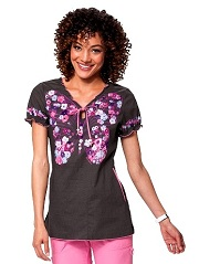 129PLM-LFT Koi Bridgette Top Light Flight <br>Fall 2014 XS-XL