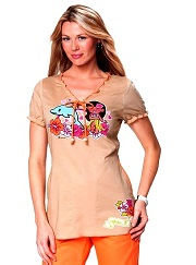 129PLM-SMF Koi Bridgette Top Summer Fun<br> Summer 2014 <br> Tokidoki XS-XL
