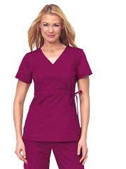 137 Koi Katelyn Scrub Top Solid Color  (XXS to 5XL)