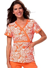 115PR-PPS Koi Kathryn Top Paisley Picnic-Sunset<br> Summer 2014
