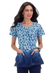 165PR-PRE Koi Dakota Scrub Top Pure Elegance <br> Fall 2014