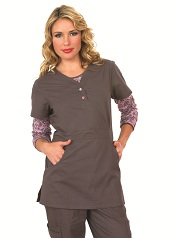 175 Koi Scrubs Top Justine (FINAL SALE) XS,XL,2XL,3XL