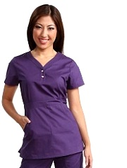175 Koi Scrubs Top Justine (4XL,5XL) Plus Size
