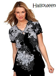 190PLM-IBS Koi Brianna Top Itsy Bitsy Spider <br>*Halloween* Fall 2013 (XS)