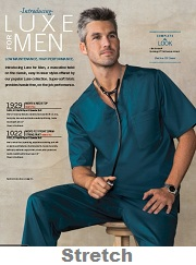 C1929 Cherokee Men Top <br>Soft & Stretch <br> S to 5XL