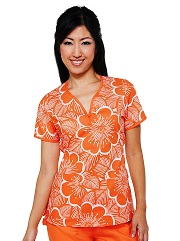 207PR-CBN Koi Christina Scrub Top Cabana <br> Summer 2013 (XS)