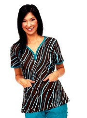 207PR-WIR Koi Christina Scrub Top Wired <br> Fall 2013 (XS)