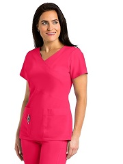 GA2130 Grey's Anatomy Signature Color Block Scrub Top  Soft Stretch *STRETCH*