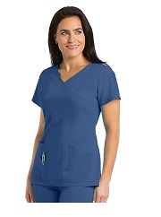 GA2130 Grey's Anatomy Signature Scrub Top  Soft Stretch *STRETCH* FINAL SALE