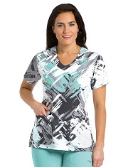 GA2138-HYP Grey's Anatomy Top  Hypnotique (M,4X,5X)<br> FINAL SALE