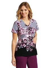 GA2138-RSG Grey's Anatomy Top Vogue <br>FINAL SALE (3X,4X,5X)