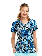 GA2138-SGBF Grey's Anatomy Top BUTTERFLY <BR>FINAL SALE
