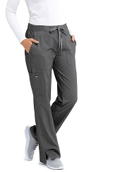GA2207-SHADOW Grey's Anatomy Signature Callie Pants <br> Soft and Stretch
