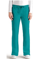 GA2207 Grey's Anatomy Signature Callie Pants <br> Soft and Stretch  XS - 3XL (Regular, Tall, Petite) FINAL SALE