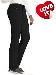 GA2210 Grey's Anatomy Signature Soft Stretch Sofia Pants XS - 5XL (Regular, Tall, Petite) FINAL SALE