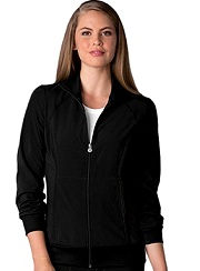 2391A Cherokee Zip Front Warm-up Jacket <br> *Certainty Antimicrobial Stretch*