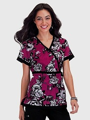 256PR-TTR Koi Cassandra Scrub Top <br> Winter 2014