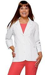 26380 Baby Phat Scrubs Slim Fitted Lab Coat (S,3XL)