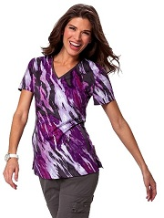 264PR-ATM Koi Stretch Lainey Top Atmosphere <br> Fall 2014 (XS,S,M,2X)