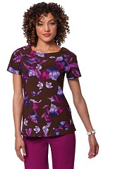 266PR-WHW Dina Koi Scrub Top Whispering Wings <br>Fall 2014