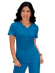 293 Koi Sapphire Francesca Top (XS-3XL)<br>  FINAL SALE *Stretch - Adjustable Waist*