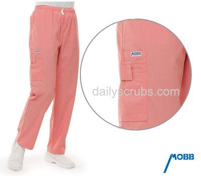 307P Mobb Elastic Drawstring<br>Scrub Pants