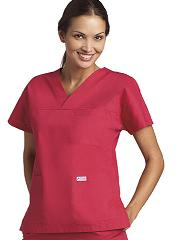 308/312 Stylish Flip Flap Scrub Set