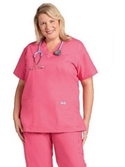 310T Mobb V-Neck<br>Scrub Top