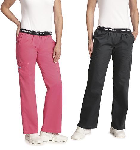 312PT Mobb Tall Pants Flip Flap Scrub Pants - 36 Inches Inseam