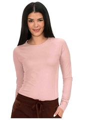315 Koi Lite Divine Long Sleeves Tee Shirt STRETCH Rose Smoke