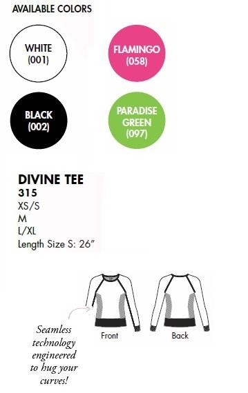 315 Koi Lite Divine Long Sleeves Tee Shirt STRETCH